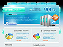 Software co. HTML template