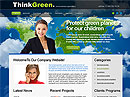 Item number: 300110909 Name: Think Green Type: HTML template