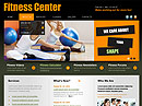 Fitness Center HTML template