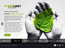 Ecology - HTML5 templates, SOCIETY FLASH website templates