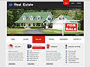Real Estate - HTML template, REAL ESTATE FLASH website templates