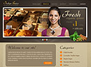 Spices - HTML template, Agriculture  flash templates