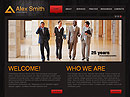 Lawyer Agency HTML template