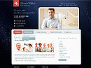 Dental Clinic - HTML template, SOCIETY FLASH website templates