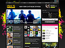 Music Station - HTML template, HTML website templates
