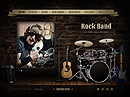 Rock Band HTML5 template