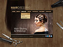 Hair Dressing HTML5 templates