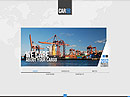 Cargo Transportation Cars web template