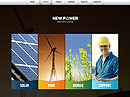Renewable energy HTML5 template