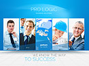 Blue Business - HTML5 templates, BUSINESS & FINANCE FLASH website templates