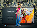 Belly Dance - HTML5 templates, Education  website templates