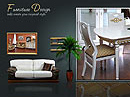 Furniture dynamic Easy flash templates