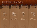 Business company Flash template