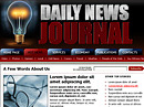 Item number: 300109991 Name: Daily news Type: HTML template