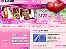 Item number: 300110069 Name: Dating agency Type: Website template