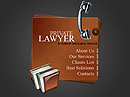 Private lawyer Flash template