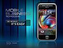 Mobile business Flash template