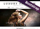 Item number: 300111612 Name: Luxury Fashion Type: Bootstrap template