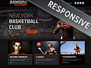 Basketball Bootstrap template