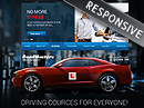 Driving School Bootstrap template