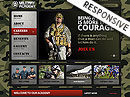 Military HTML template