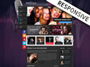 Radio Station HTML template