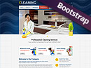 Cleanin HTML template