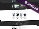 PC repair service HTML template