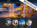 Industry Power HTML template