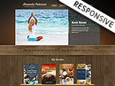 Book Writer HTML template