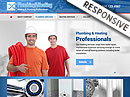 Plumbing & Heating Bootstrap template