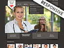 Home care service HTML template