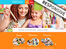Children School HTML template