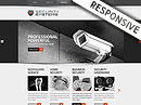 Security Service HTML template