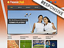 Tennis Club HTML Template