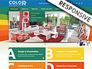 House painting HTML template