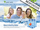 Good water HTML template