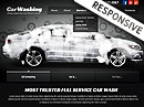 Car washing HTML Template