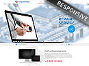 Item number: 300111826 Name: Computer repair Type: Bootstrap template