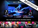 DJ Music Bootstrap template