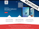 Repair service Bootstrap template