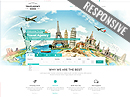 Item number: 300111901 Name: Travel Agency Type: Bootstrap template