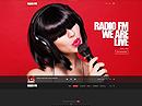 Radio FM HTML template