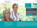 Nursing care HTML template