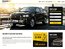 Rent a car HTML template