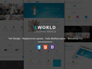 CWorld - Multi-Purpose Bootstrap template