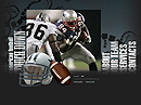 American football Flash template