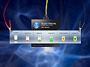 Electrical contractor - Flash template, Electrical technician flash site design