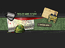 Military unit Flash Site Template