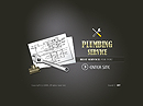 Plumbing service Flash template